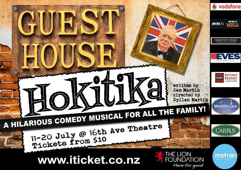 Cast List – Guest House Hokitika